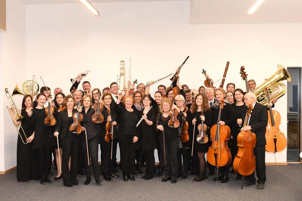 Orchester Gruppenfoto
